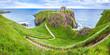 Panorama of Dunnottar Castle, Aberdeenshire, Scotland