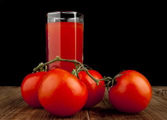 tomatoes with tomato juice