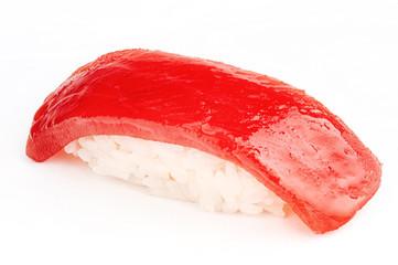 Maguro sushi with tuna fish