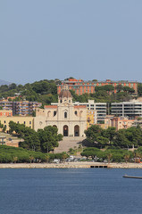 Basilica of God Bonaria. Cagliari, Sardinia