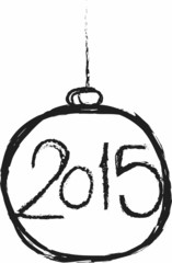 doodle happy new year 2015