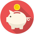 Piggy bank icon - 72777927