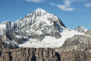 """""""Dent Blanche"""" mit Gletscher, ob Zermatt"""