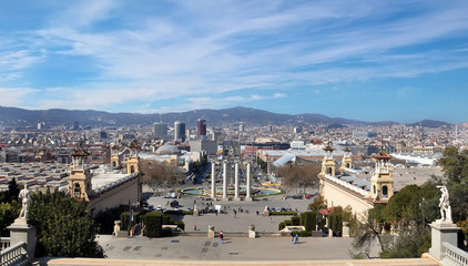 Montjuic is a hill in Barcelona, Catalonia, Spain.
