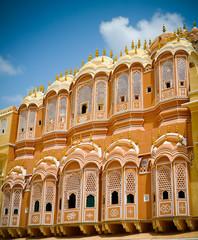 Hawa Mahal court facade