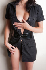 femme sexy en robe