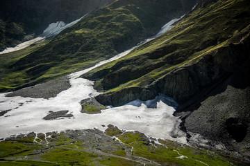 Himalaya range in spring