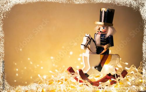 canvas print picture Christmas nutcracker