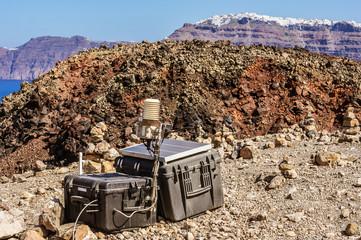 Seismic monitoring of Santorini's Volcano