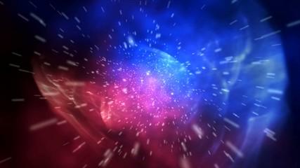 FX Space Move Fly (Полет космос. Звезды)
