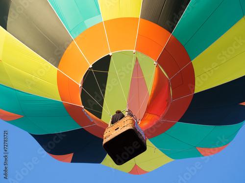Deurstickers Luchtsport Montgolfiere #140