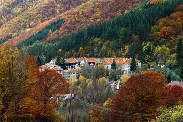 Rila Monastery, Bulgaria general view