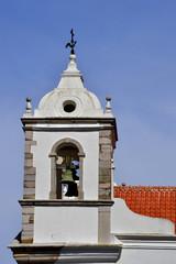Santa Maria Church bell tower in Lagos