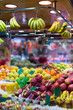 fruits on  market counter
