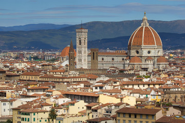 Historic center of Florence (Tuscany, Italy)