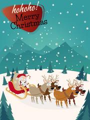 weihnachten weihnachtsmann hintergrund karte vorlage