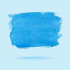Watercolor design element