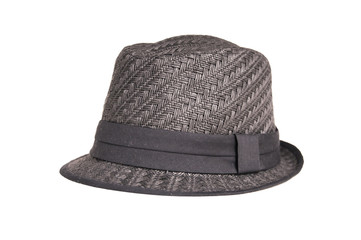 Black hat from the side
