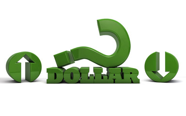 dollar currency value up or down