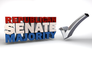 Republican Senate Majority Election Victory