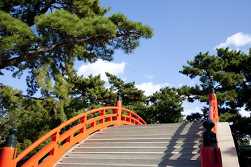 大阪住吉大社の太鼓橋