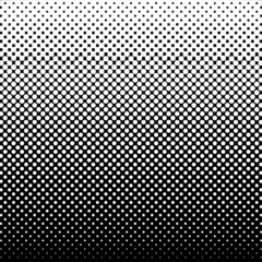 Halftone Abstract Background Black and White Vector