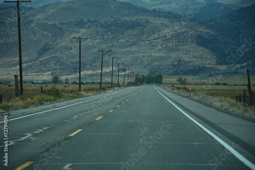 canvas print picture On the road