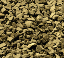 Crushed Stone Background With Midnight Sepia Effect