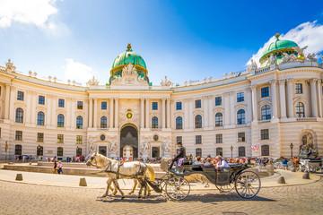 Fiaker vor Alter Hofburg