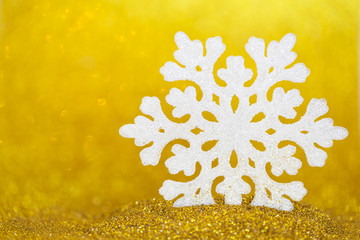 recreation snowflake abstract