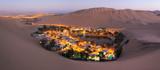 Atacama Desert, Oasis of Huacachina, Peru - 72796574