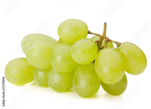 canvas print picture Green grape bunch