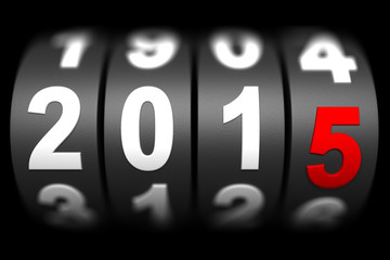 2015 New year countdown timer