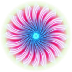 Twirl background