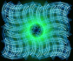 Vector Blue Wavy background texture