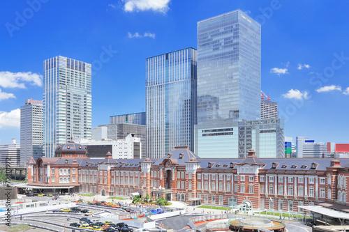 Fotobehang Treinstation 東京駅