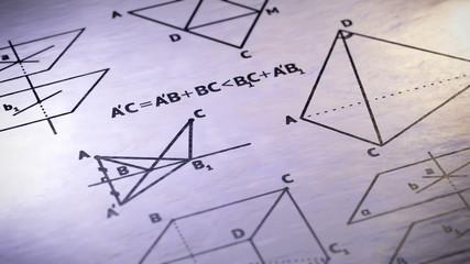 Geometry. Looping.
