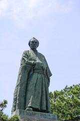 坂本龍馬の銅像 高知
