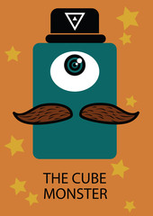 The cube monster