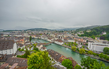 Lucerne city and lake, Switzerland