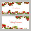 christmas set invitation cards for your design