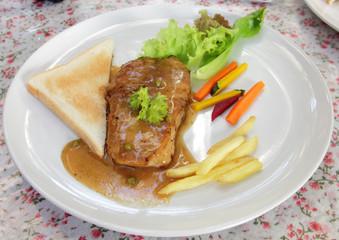 meat food : steak boneless