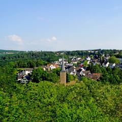 VOLMARSTEIN ( bei Hagen ) - Stadtpanorama