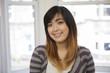 Beautiful young Asian woman.