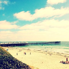 Summertime at the pier