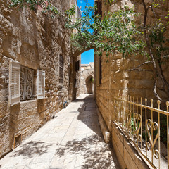 Fototapeta uliczka w Jeruzalem