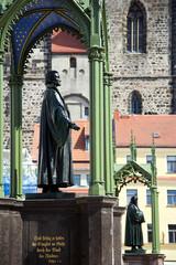 Melanchton und Luther Denkmal Wittenberg