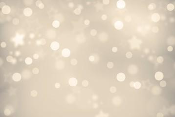 goldig-silber schimmernder Weihnachts- bzw. Silvesterhintergund