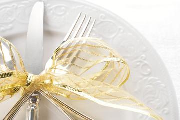 segni di Natale a tavola