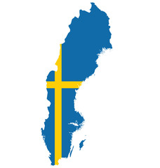Flag of the Kingdom of Sweden
